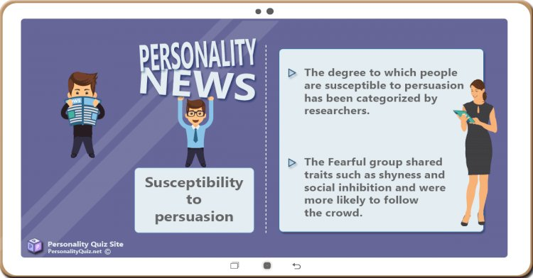 Susceptibility to persuasion