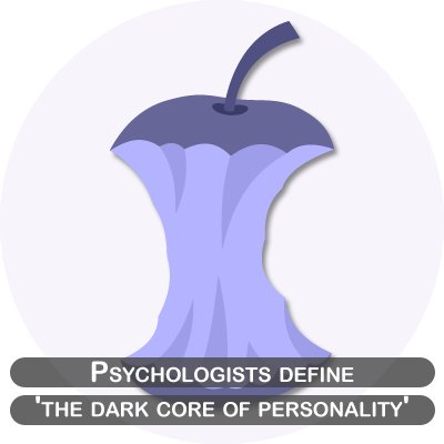 Psychologists define 'the dark core of personality'