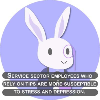 Service sector empoyees