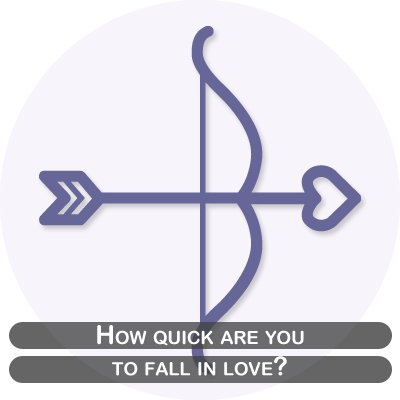 How quick are you to fall in love?